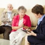 Брак Counselng - можете ли вы помочь нам — Стоковое фото