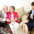 Foto Stock: Marriage Counseling Success