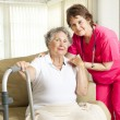 Foto Stock: Nursing Home Care