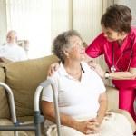 domácí ošetřovatelské péče — Stock fotografie