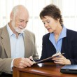 Senior Business - Sign Here — Stock Photo #6815969