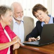 Senior Couple - Financial Advice — Stockfoto
