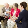 Senior Couples Counseling - Foto Stock