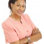Beautiful businesswoman - Confidence — Stock Photo