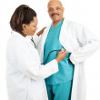 Playing Doctor — Stock Photo