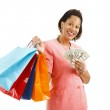 Shopping - Big Spender — Stock Photo