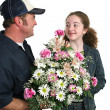 Flowers For Me? — Stock Photo #6816396