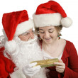 Present From Santa Claus — Stockfoto