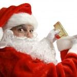 Santa Caught In Act — Stock Photo #6816462