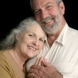 Mature Couple Happy Together — Stock Photo