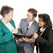 Diverse Business Group - Nice Work — Stock Photo
