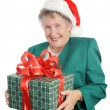 Gift For Grandmother — Stock Photo