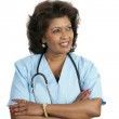 Medical Professional - Thoughtful — Stock Photo