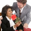 Rose For His Date — Stock Photo #6816838