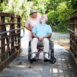 Devoted Senior Couple — Foto Stock