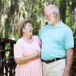 Stock Photo: Grandparents in Love