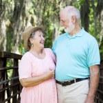 abuelos enamoradas — Foto de Stock