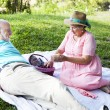 Picnic Time - Stock Photo