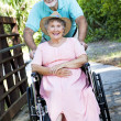 Senior Couple - Disability — Stock Photo