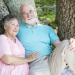 Senior Couple - Relaxing Together — Stock Photo