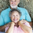 Senior Couple Relaxes — Stock Photo