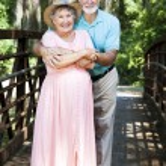 Senior Couple Vacationing — Stock Photo