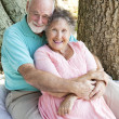 Seniors - Deeply In Love - Stock Photo