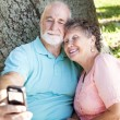 Seniors Say Cheese - Stock Photo