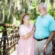 Vacation Seniors - Laughter - Stock Photo