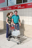 Hurricane Preparedness - Shopping — Stock Photo