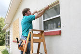 Measuring Windows — Stock Photo