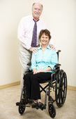 Business Tean - Disabled — Stock Photo
