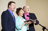 Singing Group — Stock Photo