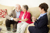 Couples Counseling - Happy Outcome — Stock Photo