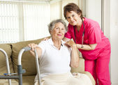 Nursing Home Care — 图库照片