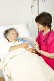 Respiratory Therapy in Hospital — Stock Photo