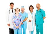 Diverse Medical Team — Stockfoto