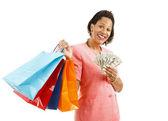 Shopping - Big Spender — Stock Photo