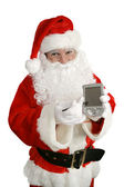 Santa With Message — Stock Photo
