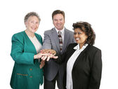 Diverse Business Team - Unity — Stock Photo
