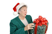 Surprise Christmas Package — Stock Photo