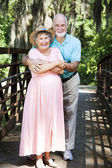 Senior Couple Vacationing — Stock Photo