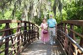Seniors Going For Picnic — Stock Photo
