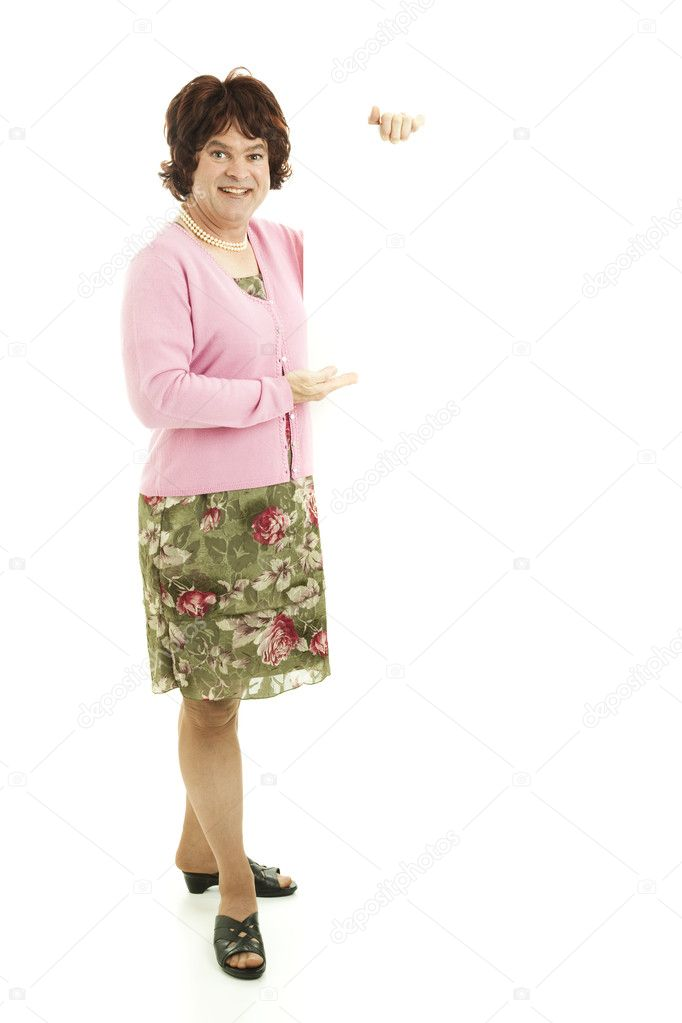 Transvestite - Full Body with Copyspace | Stock Photo © Lisa F. Young # ...