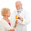 Pharmacist Giving Instructions — Stock Photo