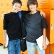 Royalty-Free Stock Photo: School Boys - Best Friends