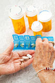 Sorting Pills — Stock Photo