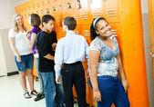 Teens Between Classes — Stock Photo