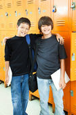 School Boys - Best Friends — Stock Photo