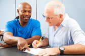 Adult Ed - Homework Help — Stock Photo
